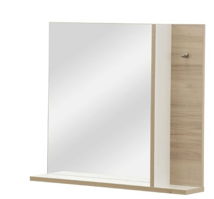 Arcane White and Cedar Effect Mirror